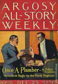 Argosy Part 3: Argosy All-Story Weekly (1920-1929 Munsey/William T. Dewart) Dec 25 1920
