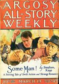 Argosy Part 3: Argosy All-Story Weekly (1920-1929 Munsey/William T. Dewart) Mar 19 1921