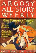 Argosy Part 3: Argosy All-Story Weekly (1920-1929 Munsey/William T. Dewart) Mar 26 1921