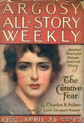 Argosy Part 3: Argosy All-Story Weekly (1920-1929 Munsey/William T. Dewart) Apr 23 1921