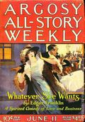 Argosy Part 3: Argosy All-Story Weekly (1920-1929 Munsey/William T. Dewart) Jun 11 1921