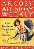 Argosy Part 3: Argosy All-Story Weekly (1920-1929 Munsey/William T. Dewart) Aug 13 1921