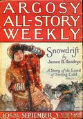 Argosy Part 3: Argosy All-Story Weekly (1920-1929 Munsey/William T. Dewart) Sep 3 1921