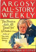 Argosy Part 3: Argosy All-Story Weekly (1920-1929 Munsey/William T. Dewart) Sep 17 1921