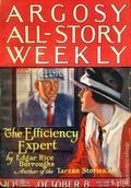 Argosy Part 3: Argosy All-Story Weekly (1920-1929 Munsey/William T. Dewart) Oct 8 1921