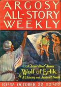 Argosy Part 3: Argosy All-Story Weekly (1920-1929 Munsey/William T. Dewart) Oct 22 1921