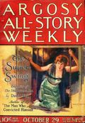 Argosy Part 3: Argosy All-Story Weekly (1920-1929 Munsey/William T. Dewart) Oct 29 1921