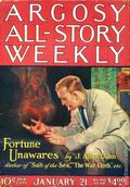 Argosy Part 3: Argosy All-Story Weekly (1920-1929 Munsey/William T. Dewart) Jan 21 1922