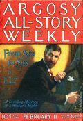 Argosy Part 3: Argosy All-Story Weekly (1920-1929 Munsey/William T. Dewart) Feb 11 1922