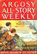Argosy Part 3: Argosy All-Story Weekly (1920-1929 Munsey/William T. Dewart) Mar 25 1922