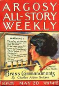 Argosy Part 3: Argosy All-Story Weekly (1920-1929 Munsey/William T. Dewart) May 20 1922