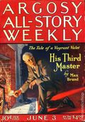Argosy Part 3: Argosy All-Story Weekly (1920-1929 Munsey/William T. Dewart) Jun 3 1922