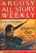 Argosy Part 3: Argosy All-Story Weekly (1920-1929 Munsey/William T. Dewart) Vol. 143 #6
