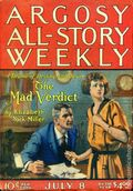 Argosy Part 3: Argosy All-Story Weekly (1920-1929 Munsey/William T. Dewart) Vol. 144 #1