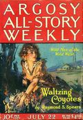 Argosy Part 3: Argosy All-Story Weekly (1920-1929 Munsey/William T. Dewart) Vol. 144 #3