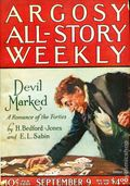 Argosy Part 3: Argosy All-Story Weekly (1920-1929 Munsey/William T. Dewart) Sep 9 1922