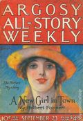 Argosy Part 3: Argosy All-Story Weekly (1920-1929 Munsey/William T. Dewart) Sep 23 1922