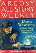Argosy Part 3: Argosy All-Story Weekly (1920-1929 Munsey/William T. Dewart) Oct 7 1922