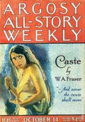 Argosy Part 3: Argosy All-Story Weekly (1920-1929 Munsey/William T. Dewart) Oct 14 1922