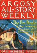 Argosy Part 3: Argosy All-Story Weekly (1920-1929 Munsey/William T. Dewart) Oct 21 1922