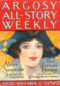 Argosy Part 3: Argosy All-Story Weekly (1920-1929 Munsey/William T. Dewart) Nov 11 1922