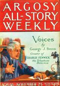 Argosy Part 3: Argosy All-Story Weekly (1920-1929 Munsey/William T. Dewart) Nov 25 1922