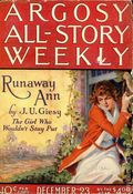 Argosy Part 3: Argosy All-Story Weekly (1920-1929 Munsey/William T. Dewart) Dec 23 1922