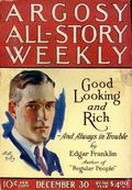 Argosy Part 3: Argosy All-Story Weekly (1920-1929 Munsey/William T. Dewart) Dec 30 1922