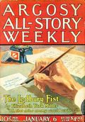 Argosy Part 3: Argosy All-Story Weekly (1920-1929 Munsey/William T. Dewart) Jan 6 1923
