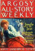 Argosy Part 3: Argosy All-Story Weekly (1920-1929 Munsey/William T. Dewart) Jan 13 1923
