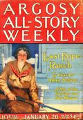 Argosy Part 3: Argosy All-Story Weekly (1920-1929 Munsey/William T. Dewart) Jan 20 1923