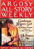 Argosy Part 3: Argosy All-Story Weekly (1920-1929 Munsey/William T. Dewart) Mar 31 1923