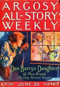 Argosy Part 3: Argosy All-Story Weekly (1920-1929 Munsey/William T. Dewart) Jun 30 1923