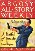 Argosy Part 3: Argosy All-Story Weekly (1920-1929 Munsey/William T. Dewart) Jul 28 1923