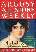 Argosy Part 3: Argosy All-Story Weekly (1920-1929 Munsey/William T. Dewart) Sep 29 1923