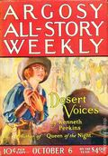 Argosy Part 3: Argosy All-Story Weekly (1920-1929 Munsey/William T. Dewart) Oct 6 1923