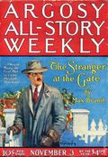 Argosy Part 3: Argosy All-Story Weekly (1920-1929 Munsey/William T. Dewart) Nov 3 1923