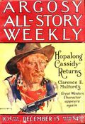 Argosy Part 3: Argosy All-Story Weekly (1920-1929 Munsey/William T. Dewart) Dec 15 1923