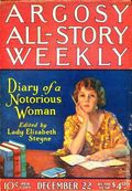 Argosy Part 3: Argosy All-Story Weekly (1920-1929 Munsey/William T. Dewart) Dec 22 1923