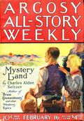Argosy Part 3: Argosy All-Story Weekly (1920-1929 Munsey/William T. Dewart) Feb 16 1924