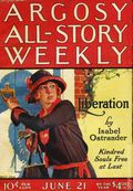 Argosy Part 3: Argosy All-Story Weekly (1920-1929 Munsey/William T. Dewart) Vol. 161 #1