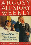 Argosy Part 3: Argosy All-Story Weekly (1920-1929 Munsey/William T. Dewart) Nov 1 1924