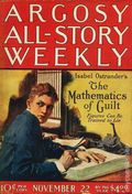 Argosy Part 3: Argosy All-Story Weekly (1920-1929 Munsey/William T. Dewart) Nov 22 1924