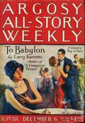 Argosy Part 3: Argosy All-Story Weekly (1920-1929 Munsey/William T. Dewart) Dec 6 1924