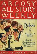 Argosy Part 3: Argosy All-Story Weekly (1920-1929 Munsey/William T. Dewart) Dec 13 1924