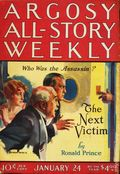Argosy Part 3: Argosy All-Story Weekly (1920-1929 Munsey/William T. Dewart) Jan 24 1925