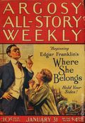 Argosy Part 3: Argosy All-Story Weekly (1920-1929 Munsey/William T. Dewart) Vol. 166 #3