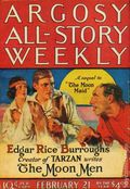 Argosy Part 3: Argosy All-Story Weekly (1920-1929 Munsey/William T. Dewart) Feb 21 1925