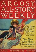 Argosy Part 3: Argosy All-Story Weekly (1920-1929 Munsey/William T. Dewart) Feb 28 1925