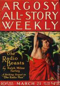 Argosy Part 3: Argosy All-Story Weekly (1920-1929 Munsey/William T. Dewart) Mar 21 1925
